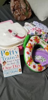 Potty training and diaper lot