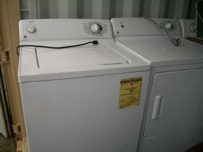 GE WASHER & DRYER PAIR (see photo)