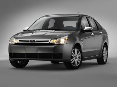 2010 Ford Focus SE (Sterling Gray Metallic)