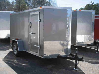 2014 DIAMOND CARGO 5x10 enclosed trailer