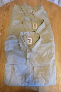 Group of 3 DICKIES Work Shirts Size 3XL