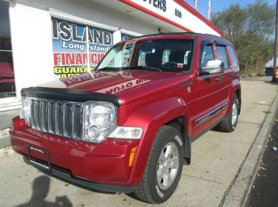 2009 Jeep Liberty Sport (Inferno Red Crystal Pearl)