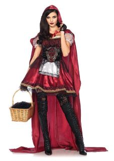 Adult large - little red riding hood costume