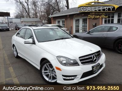 2014 Mercedes-Benz C-Class C300 4MATIC Luxury (White)