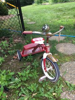 Retro Red flyer tricycle