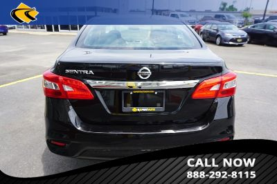 2017 Nissan Sentra S (BLACK)