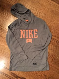 Nike hooded thermal shirt, size small