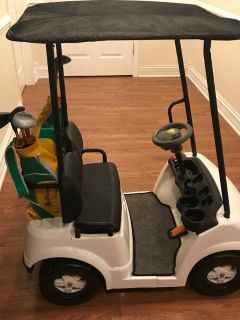 Golf cart battery operated ride-on
