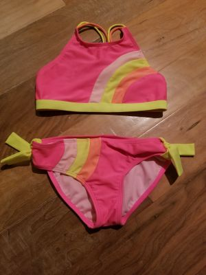 Like new Cat and Jack 7/8 bathing suit