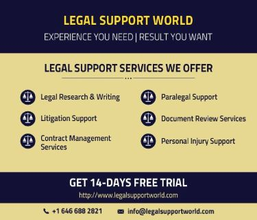 Legal process outsourcing services- A quick solution!