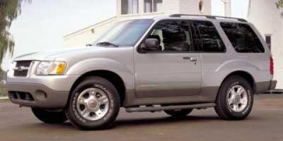 2002 Ford Explorer Sport (Silver)