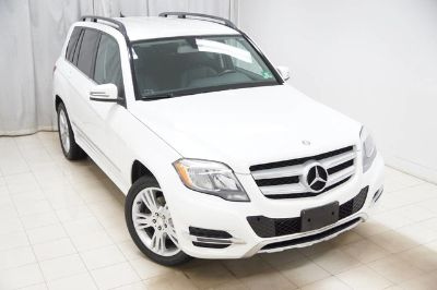 2013 Mercedes-Benz GLK-Class GLK350 4MATIC (Polar White)