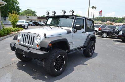 2010 Jeep Wrangler Sport (Silver Or Aluminum)