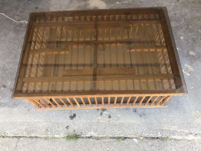 Pheasant Cage Coffee Table