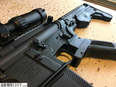For Sale: Anderson / DPMS AR-15 M-4 with Slide Fire Mod-2 and Scope