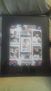 Chicago Cubs Chicago White Sox's Framed Picture