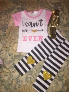 Brand new boutique outfit