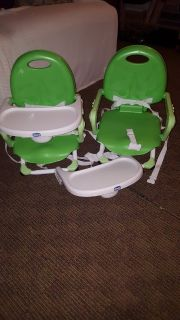 Portable high chairs