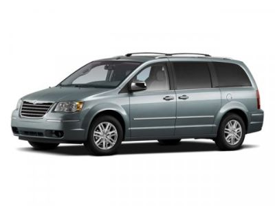 2009 Chrysler Town & Country Touring (Clearwater Blue Pearl)