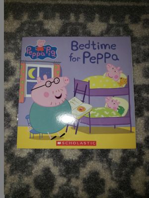 Bedtime for Peppa paper book