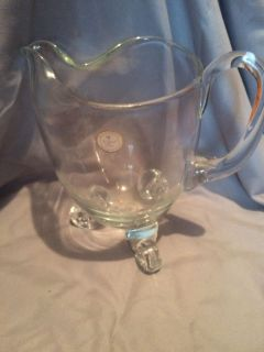 $10.00 new crystal pitcher