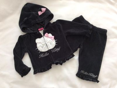 Hello Kitty outfit 3-6 mo