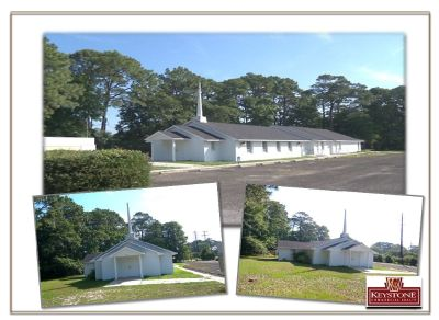 Former Church @62nd-4,800sf Building-Property for Sale Myrtle Beach-Keystone Commercial Realty
