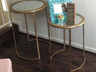 amaizing pair side tables