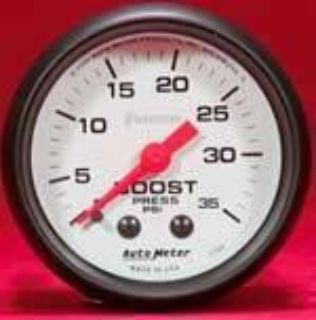 "Find Autometer Phantom Series-Boost Gauge 2-1/16"" mechanical 35 psi 2-1/16 5704 motorcycle in Winchester, KY, US, for US $65.99"