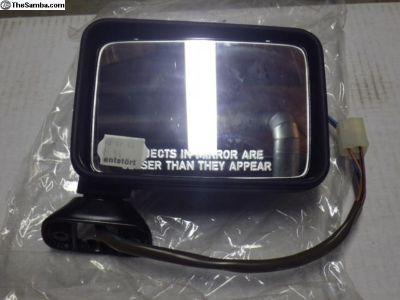 NOS Passenger Electric Mirror Jetta Golf 85-88