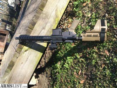 For Sale/Trade: 10.10.5 AR Pistol 300 Blackout