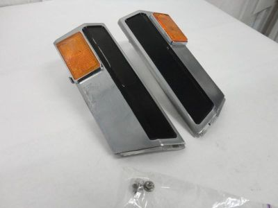 Find 1983-86 Honda VF1100C Magna V65 Left & Right Radiator Covers w/ Reflectors 3168 motorcycle in Kittanning, Pennsylvania, US, for US $9.99