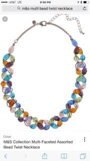 M&S collection necklace