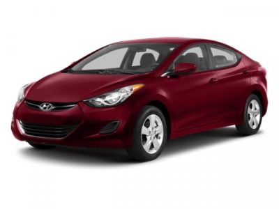 2013 Hyundai Elantra GLS (Atlantic Blue)