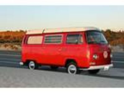 1970 Volkswagen Bus/Vanagon Westfalia California Bus
