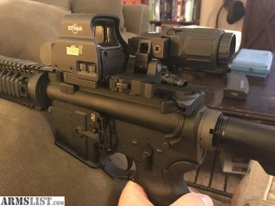 For Sale: Bushmaster AR15 w/upgrades and EOTech HHS-II Sight/Magnifier Combo