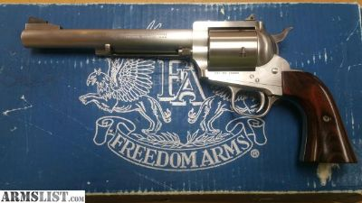 For Sale: Freedom Arms 454 casull with box