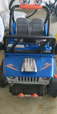 Hot wheels Jeep with battery