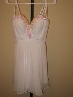 Reduced-HomeComing/Prom/Party Dress -White