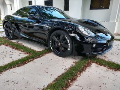 2014 Black Porsche Cayman Base 19350 mls