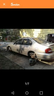Parting out a 2001 Nissan Altima parts interchange yrs 98 to 01