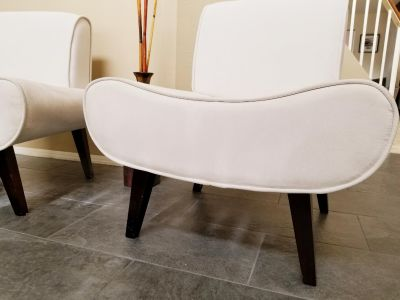 Microsuede Accent Chairs