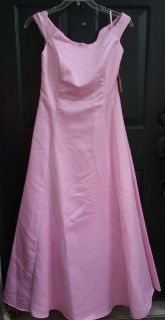 NEW WITH TAGS Size Large Pink Formal Dress.