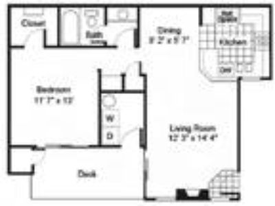 Arroyo Villa Apartments - One BR One BA B