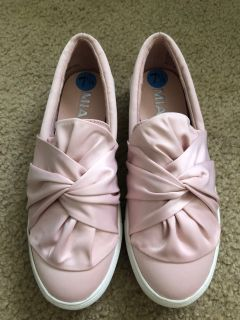 Brand New Pink Mia Sneakers 7.5