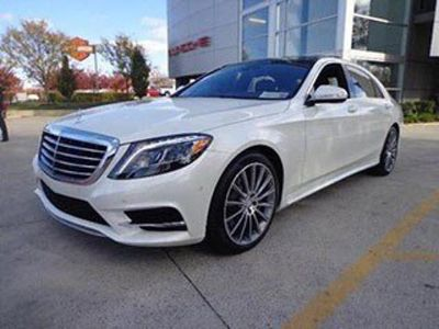 2014 Mercedes-Benz S-Class S550 (Diamond White Metallic)