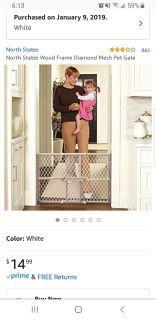 Baby pet gate 2 price is for each
