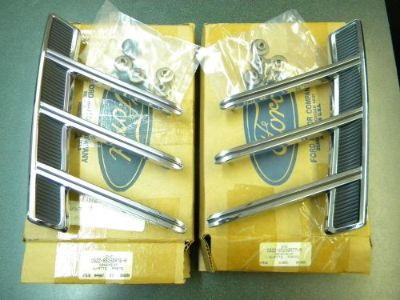Find 1966 Ford Mustang Quarter Panel Ornaments New Old Stock FORD PART motorcycle in Kansas City, Missouri, United States, for US $225.95