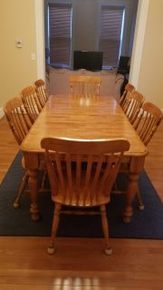 DINING TABLE- seats 8