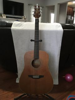 Takamine G Series Acoustic Guitar w/ soft case & stand